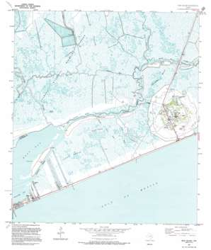High Island USGS topographic map 29094e4