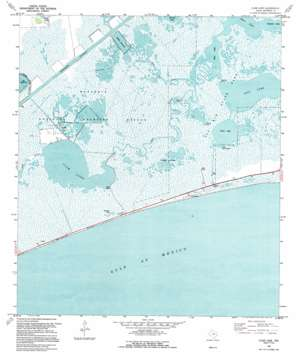 Clam Lake USGS topographic map 29094f1
