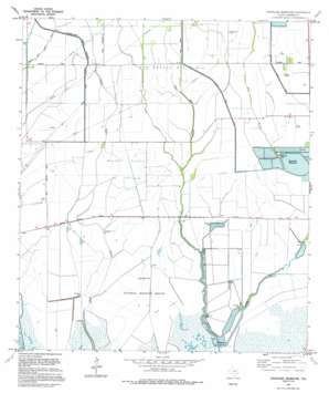 Stanolind Reservoir USGS topographic map 29094f4