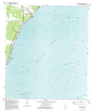 Umbrella Point USGS topographic map 29094f7