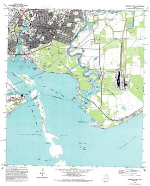 Morgan Point USGS topographic map 29094f8