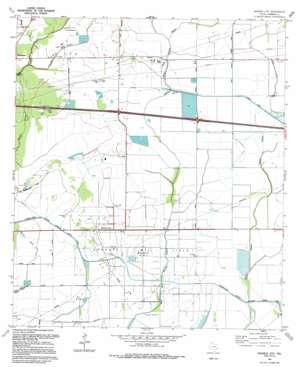 Monroe City topo map