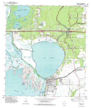 Anahuac USGS topographic map 29094g6