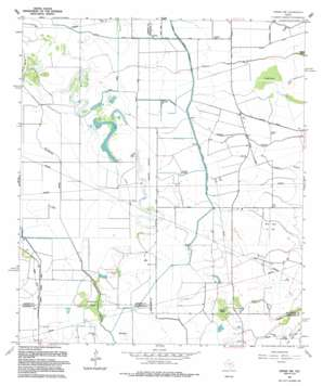 Winnie Nw USGS topographic map 29094h4