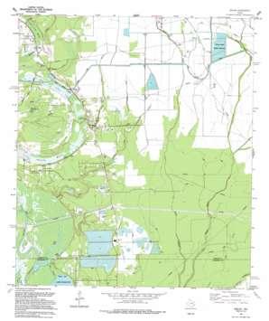 Shiloh USGS topographic map 29094h6