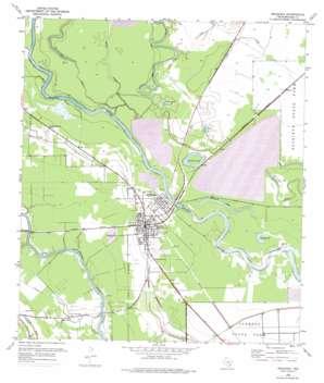 Brazoria USGS topographic map 29095a5