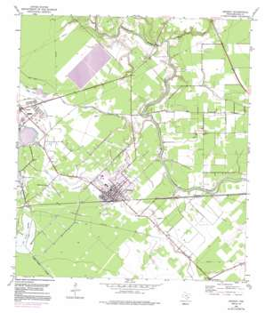 Sweeny USGS topographic map 29095a6