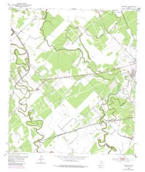 Ashwood USGS topographic map 29095a7