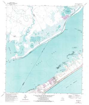 Sea Isle USGS topographic map 29095b1