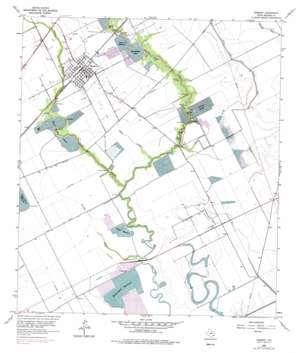 Danbury topo map