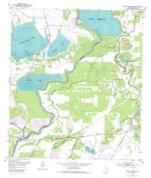 East Columbia USGS topographic map 29095b5