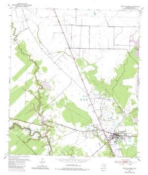 West Columbia topo map