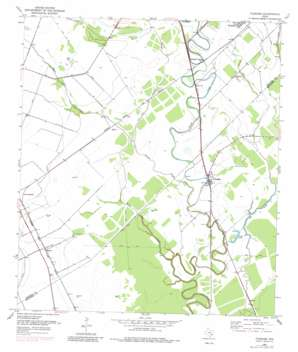 Pledger USGS topographic map 29095b8