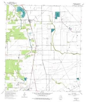 Rosharon USGS topographic map 29095c4