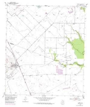 Damon USGS topographic map 29095c6