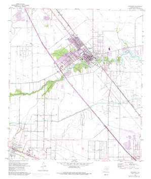 Dickinson topo map