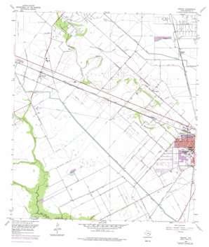 Manvel USGS topographic map 29095d3