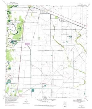 Juliff USGS topographic map 29095d4
