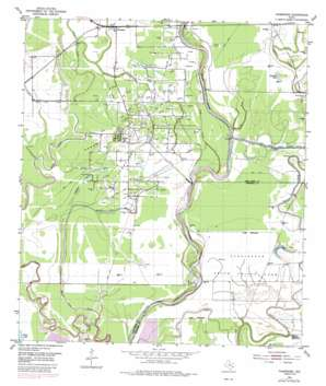 Thompsons USGS topographic map 29095d5