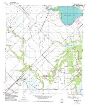 Smithers Lake topo map