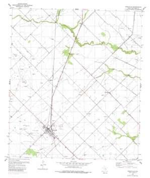 Needville topo map