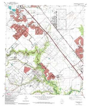 Friendswood USGS topographic map 29095e2