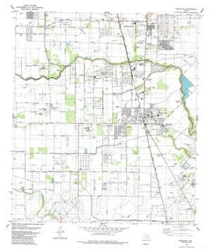 Pearland USGS topographic map 29095e3