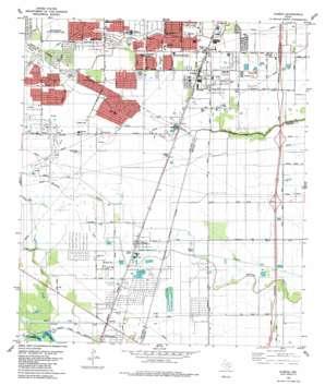 Almeda USGS topographic map 29095e4