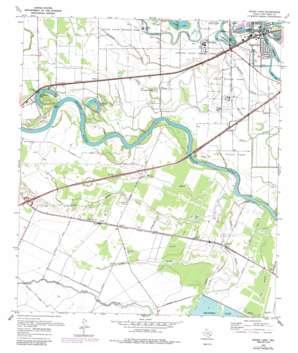Sugar Land USGS topographic map 29095e6