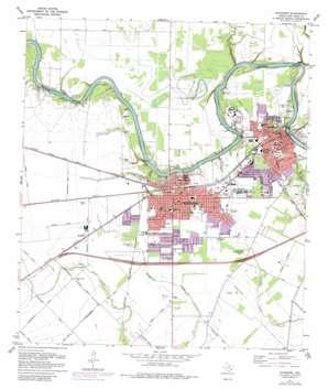 Richmond topo map