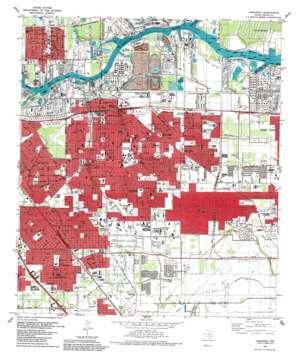 Pasadena topo map
