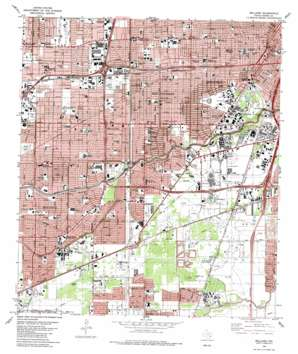 Bellaire USGS topographic map 29095f4