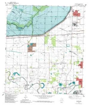 Clodine USGS topographic map 29095f6