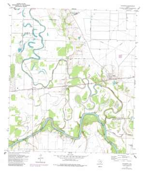 Fulshear USGS topographic map 29095f8