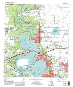 Highlands USGS topographic map 29095g1