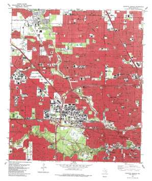 Houston Heights USGS topographic map 29095g4