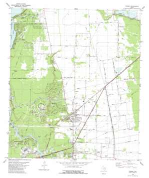 Crosby USGS topographic map 29095h1