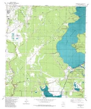 Harmaston topo map