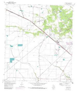 Cypress USGS topographic map 29095h6