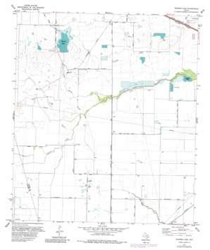Warren Lake topo map