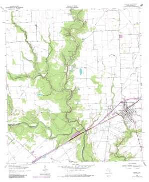 Ganado USGS topographic map 29096a5