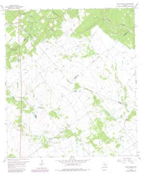 Peck Branch topo map
