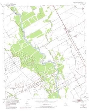 Lane City USGS topographic map 29096b1