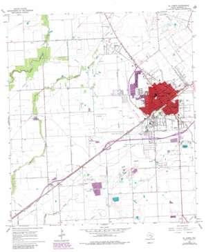 El Campo USGS topographic map 29096b3