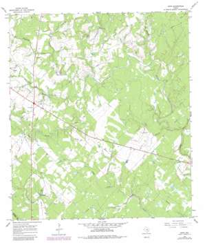 Hope USGS topographic map 29096b8
