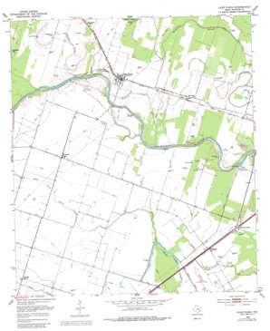 Glen Flora USGS topographic map 29096c2
