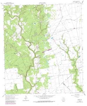 Speaks USGS topographic map 29096c6