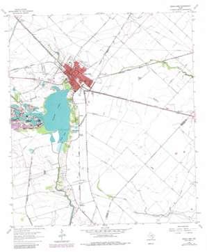 Eagle Lake USGS topographic map 29096e3