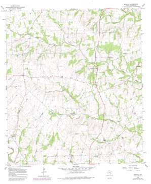 Moravia USGS topographic map 29096e8