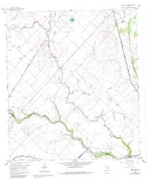 Rexville topo map